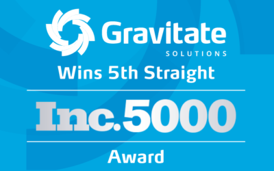 Gravitate Solutions Wins 5th Straight Inc. Award